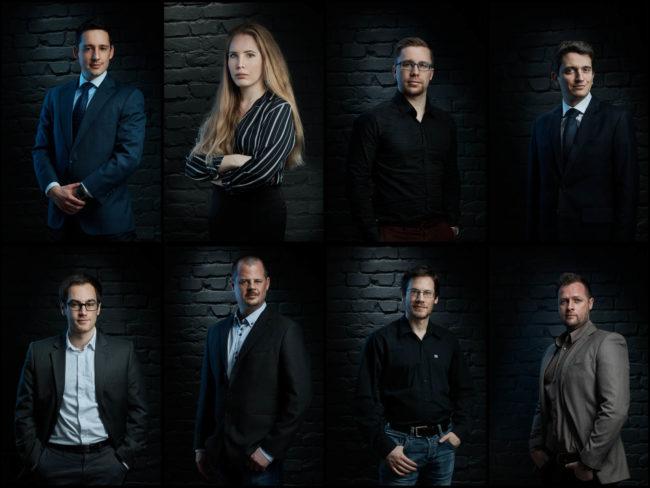 uzleti portre foto - ceges business fotozas